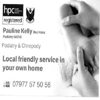 <p>Podiatry &amp; Chiropody</p>
