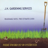 <p>Lawn mowing, hedge cutting, weeding, planting, pruning, and much more......</p><p>No job too big or too small</p><p>Fully equipped.</p><p>I've received a dissection in the National Award in Horticulture</p><p>Over 5 years experience in garden maintenance</p><p>References and portfolio available</p><p>Call us today! on 07810801357 or 01572813125</p>