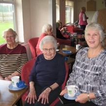 WI 100 anniversary coffee morning